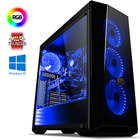 Vibox Vision 34 Gaming PC Ordenador de sobremesa con 2 Juegos Gratis, Windows 10 Pro OS (3,8GHz AMD A6 Dual-Core Procesador, Nvidia GeForce GT 710 ...