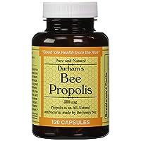 Durham's Bee Propolis 500mg 120 Capsules