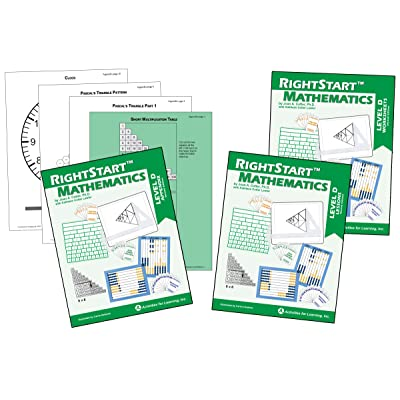RightStart Mathematics Level D Book Bundle: Industrial & Scientific