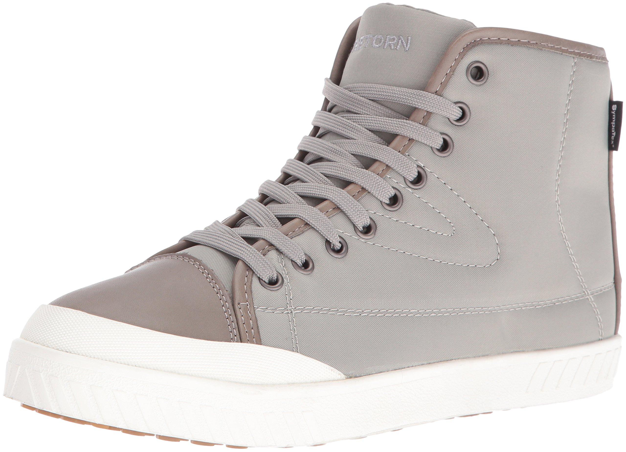 Tretorn Women's Bailey4 Rain Boot, Grey/Grey/White, 9.5 M US
