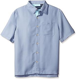 3ea2e765 Nat Nast Men's Diamond Print Short Sleeve Shirt, Black S at Amazon ...