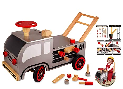 Carro de la construcción de la madera