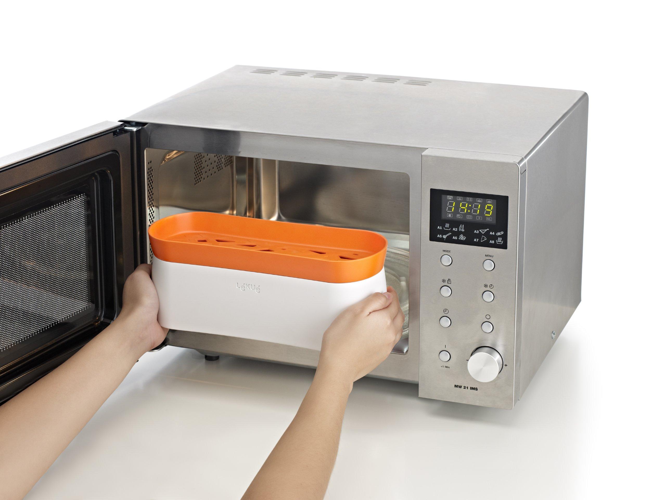Lekue Pasta Cooker, Model # 0200702N07M017, Orange by Lekue (Image #5)
