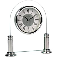 Acctim 36427 Bewdley Reloj de Chimenea, Color Plateado