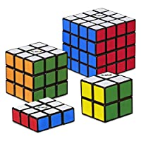 Deals on 4-Pack Hasbro Gaming Rubik's Solve The Cube Bundle