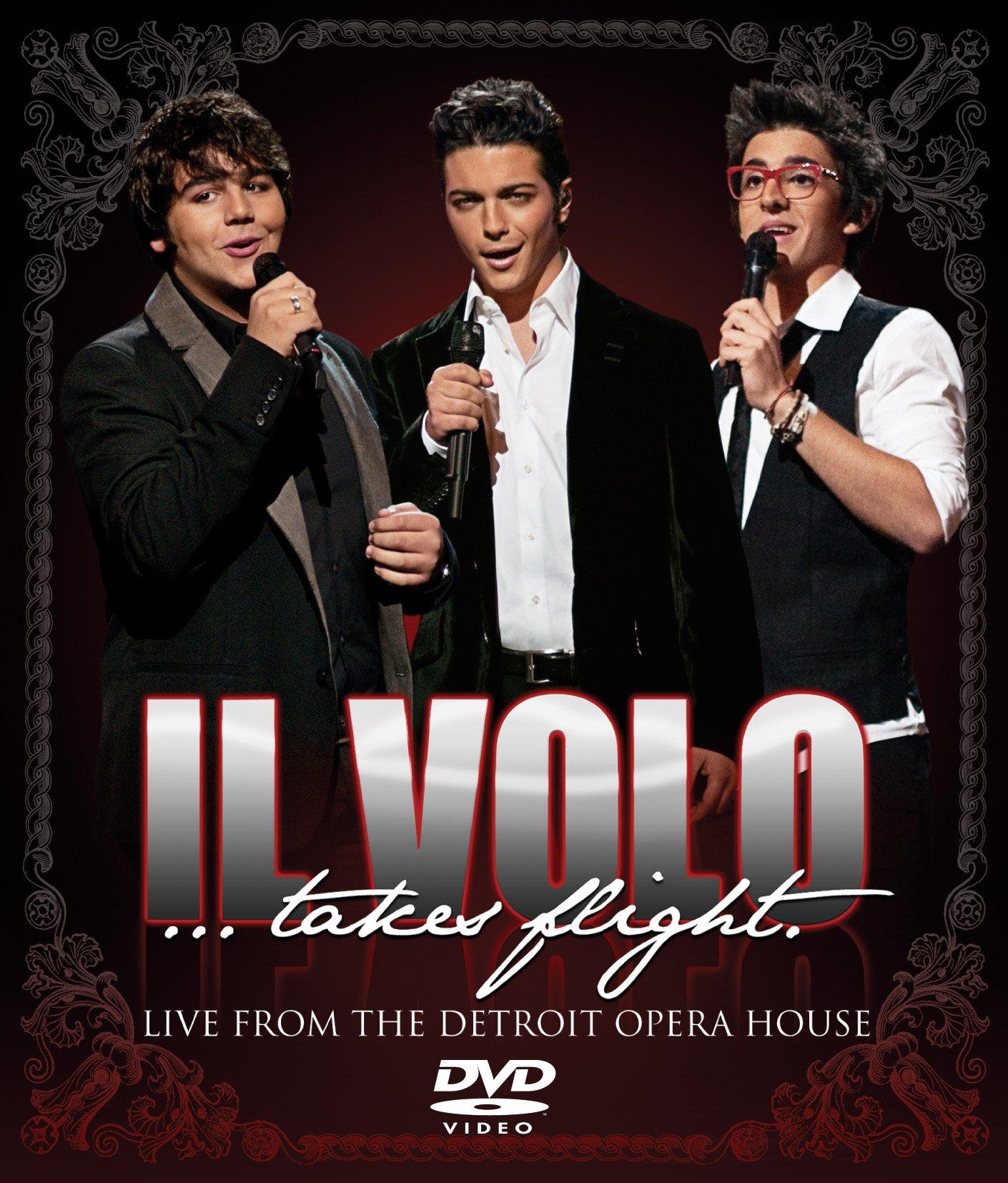 DVD : Il Volo - Il Volo: Takes Flight - Live From The Detroit Opera House