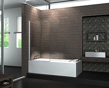 Duschtrennwand  Duschtrennwand Rono (Badewanne): Amazon.de: Baumarkt