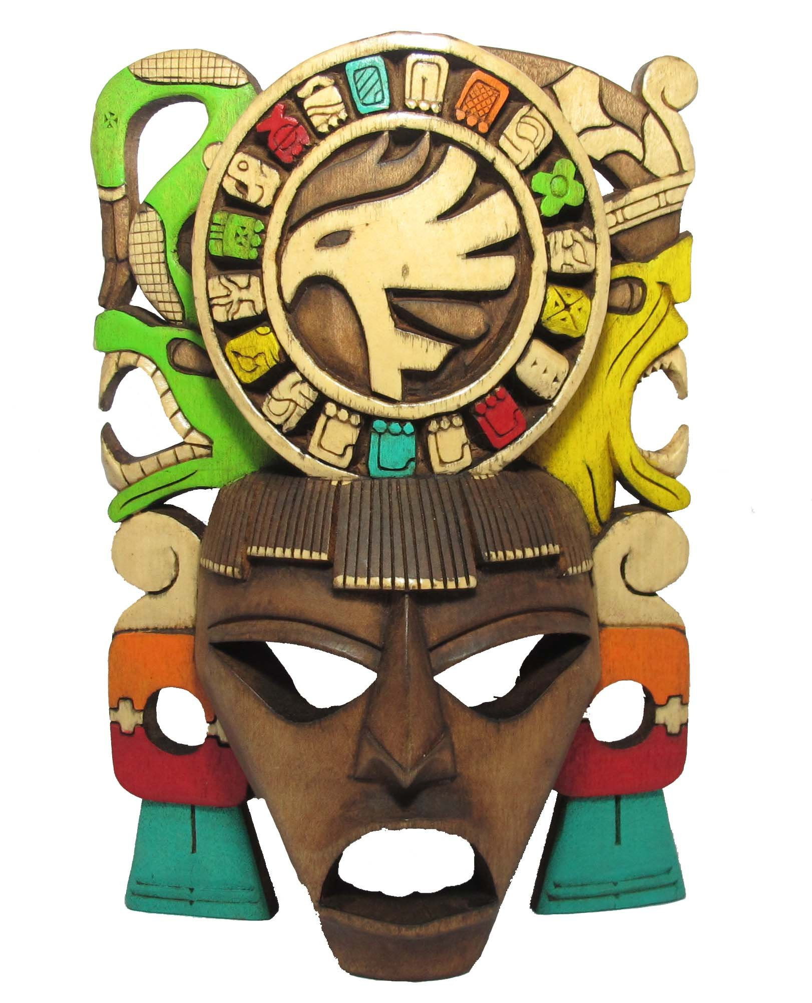 Sofia's Findings Mayan Mask - Mayan Calendar Mask by Sofia's Findings