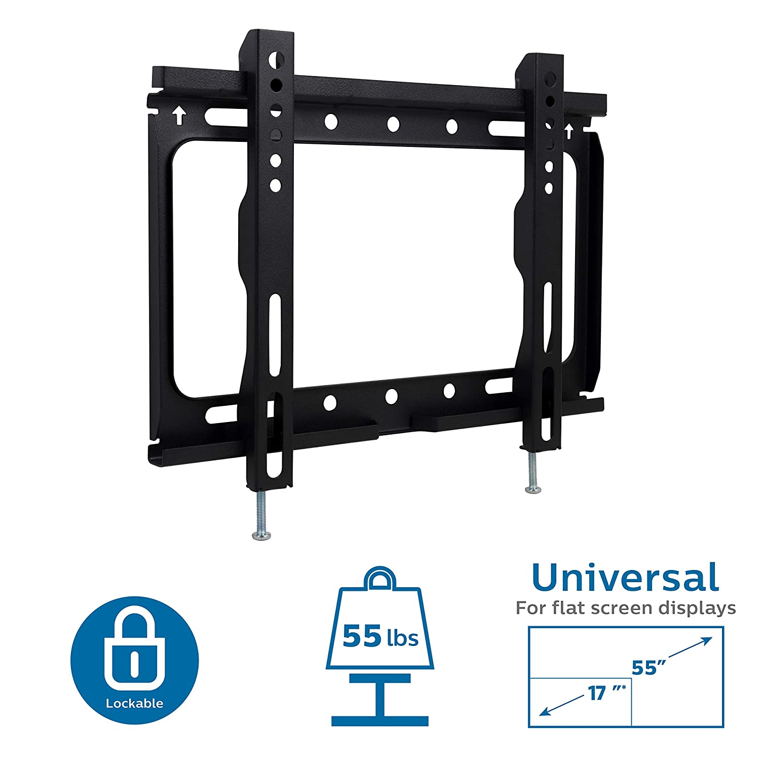 "Amazon.com: Philips TV Wall Mount for 13""-55"" LED LCD Plasma ..."