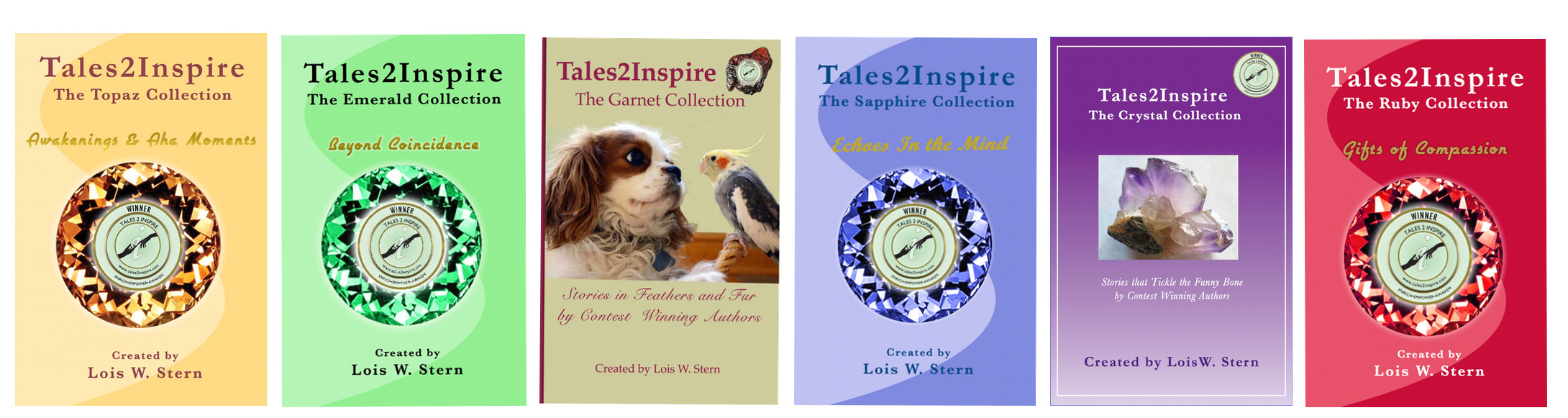 Tales2Inspire ~ The Crystal Collection: Stories that Tickle the