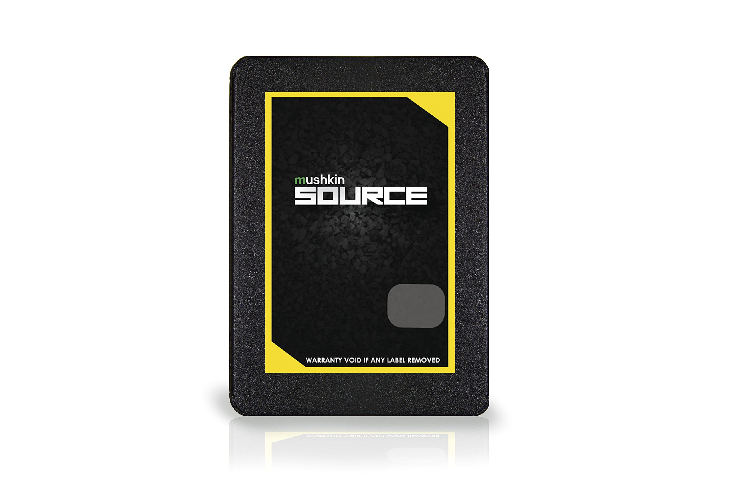 Mushkin SOURCE - 500GB Internal Solid State Drive (SSD) - 2.5 Inch - SATA III - 6Gb/s - 3D Vertical TLC - 7mm – (MKNSSDSR500GB) by Mushkin