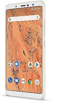 BQ Aquaris X2 - Smartphone 32GB, 3GB RAM, Dual Sim, Sand Gold ...