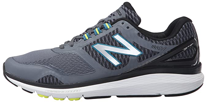 new balance Men's 1865v1 Walking Shoe, GreyBlack, 9 4E US