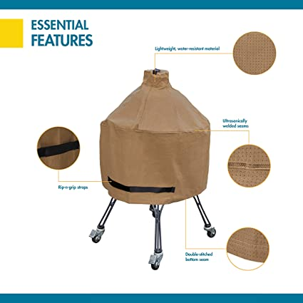 Duck Covers Essential Water Resistant 29 Inch Ceramic Bbq Grill Cover Garden Outdoor