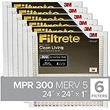 Nordic Pure 12x12x1 MERV 13 Tru Mini Pleat AC Furnace Air Filters 3 Pack