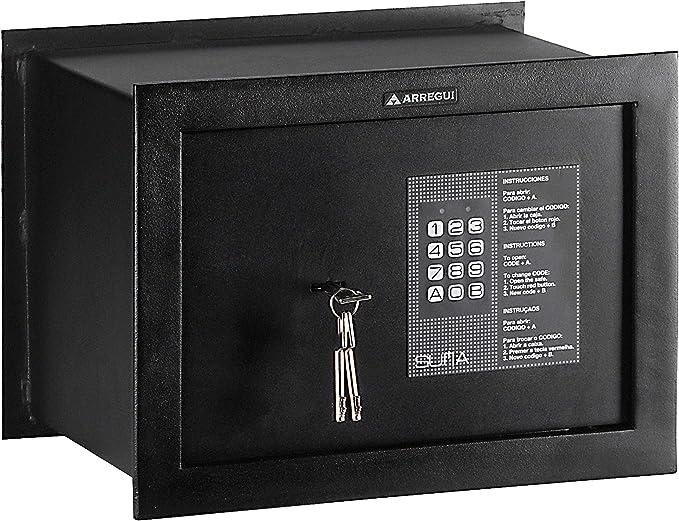 Arregui 30010 Caja fuerte de empotrar electrónica con llave ...