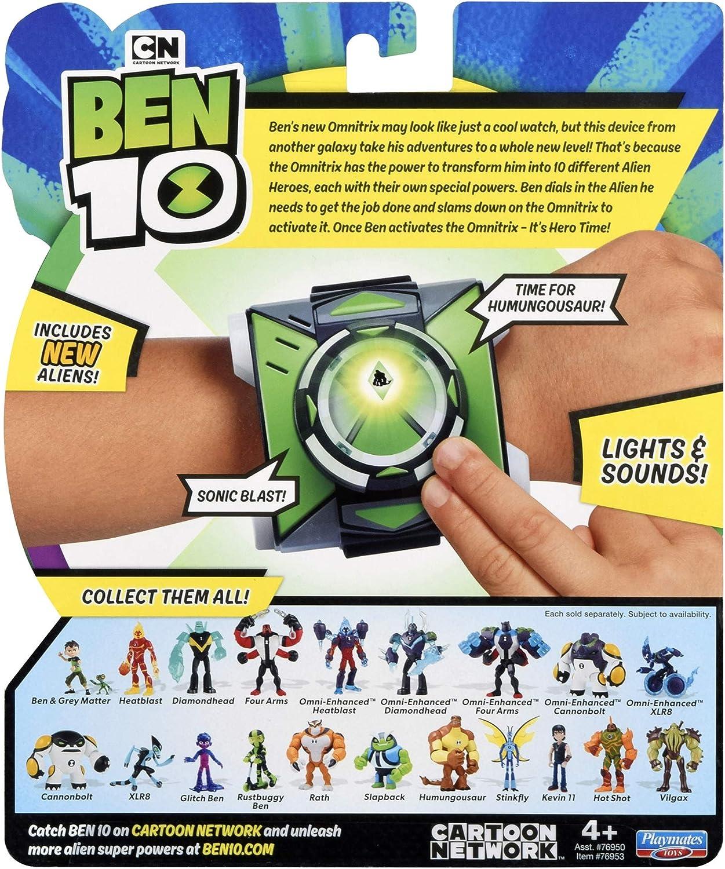Ben 10 Lights /& Sound Omnitrix Season 3