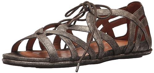 1d72d9ecf1a Gentle Souls Women s Orly Lace-up Flat Sandal  Amazon.co.uk  Shoes ...
