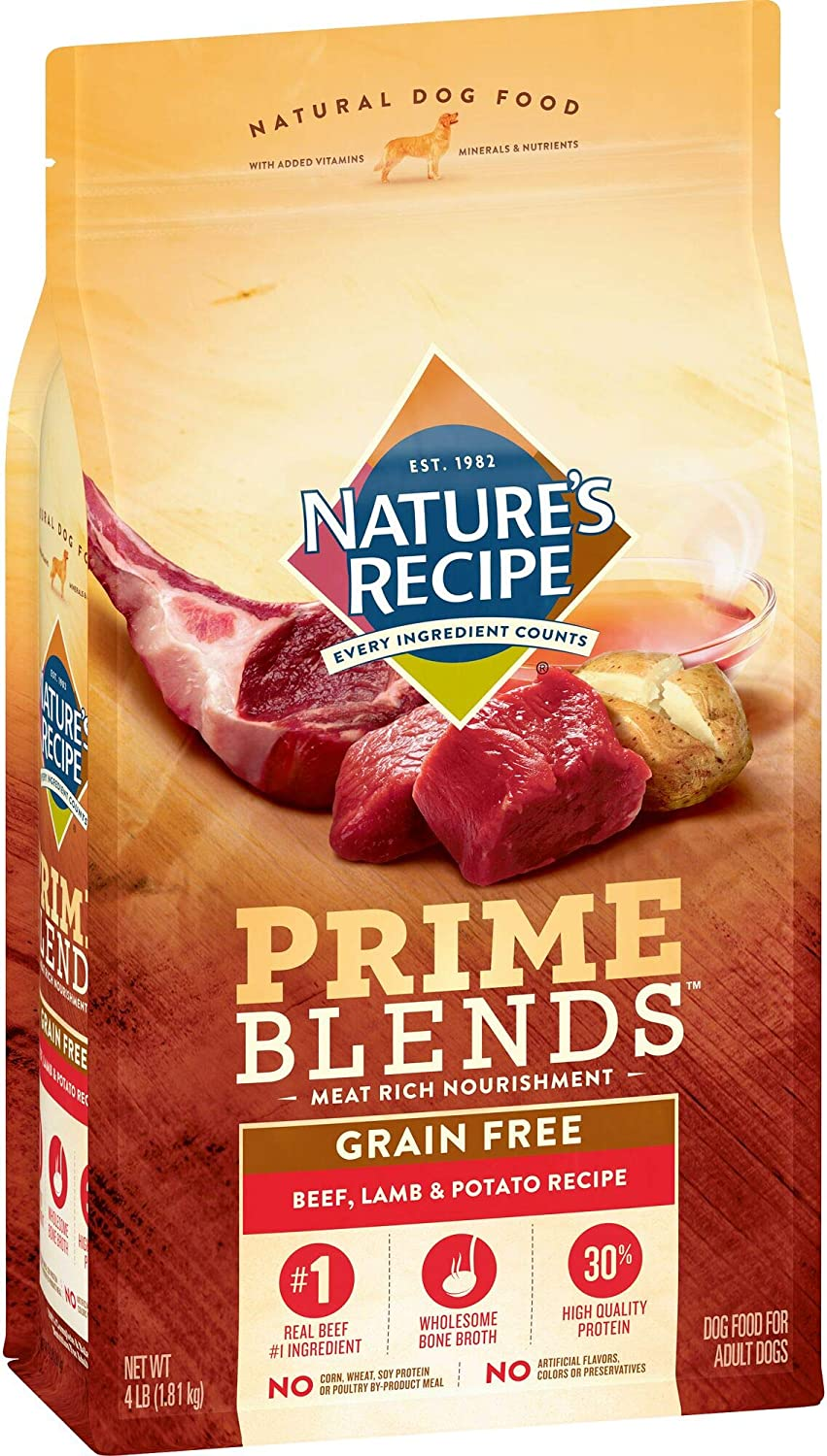 Nature's Recipe Prime Blends Dry Dog Food