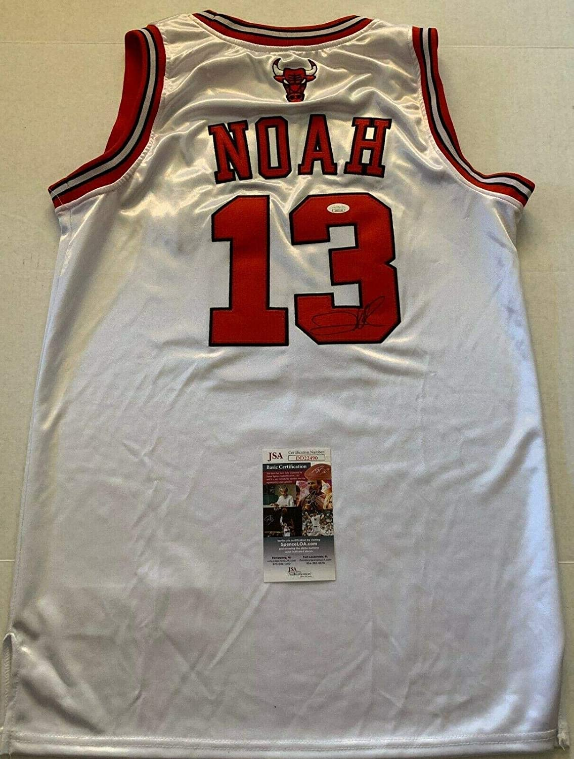 Used Chicago Bulls Jersey Joaquin Noah #13 for sale in