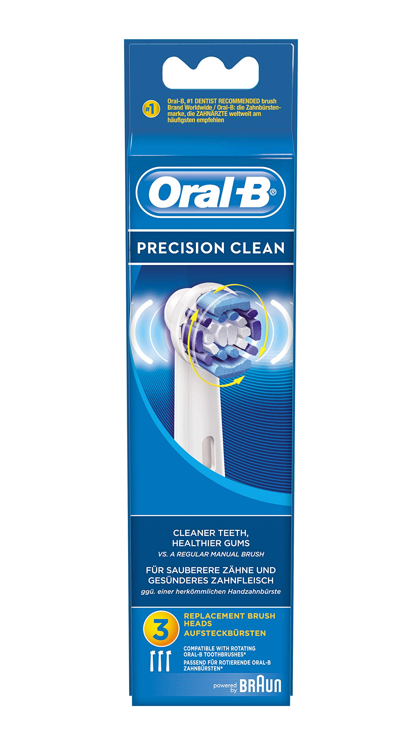 Oral-B - 64703701 - Pack Of 3 Precision Clean Electric Toothbrush Heads by Oral-B