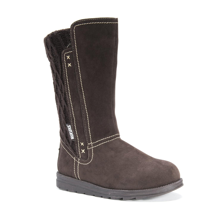 MUK LUKS Women's Stacy Winter Boot B01M5BHTWI 10 B(M) US|Dark Brown