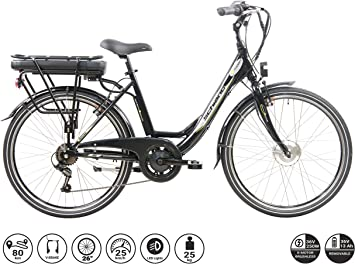 F.lli Schiano E- Moon Bicicleta eléctrica: Amazon.es: Deportes y aire ...