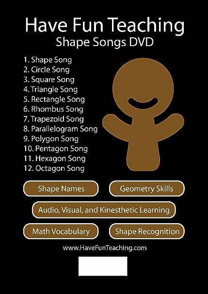 Amazon.com: Shape Songs DVD by Have Fun Teaching: Movies & TV