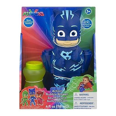 PJ Masks Catboy Action Bubble Blower: Toys & Games