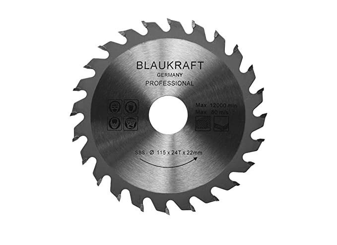 Saw blade for angle grinder 115mm for wood cutting discs circular saw blade for angle grinder 115mm for wood cutting discs circular 115x22x24t tct 24t amazon diy tools greentooth Choice Image