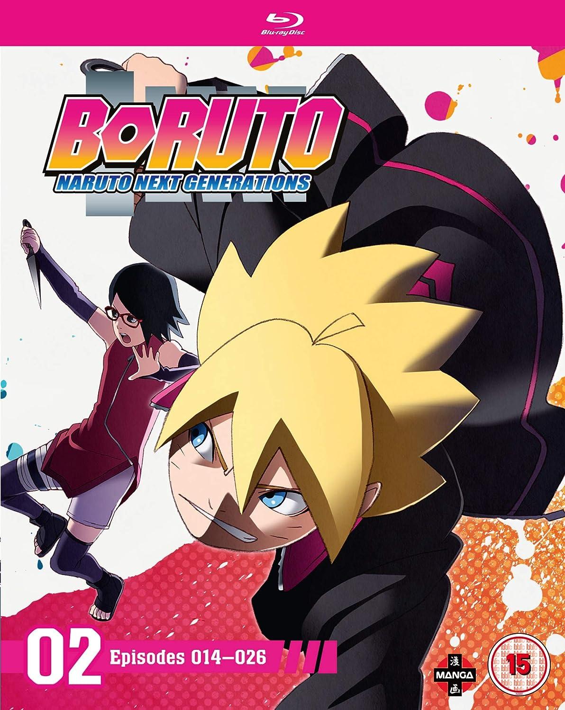 Boruto: Naruto Next Generations Set Two Episodes 14-26 Blu ...