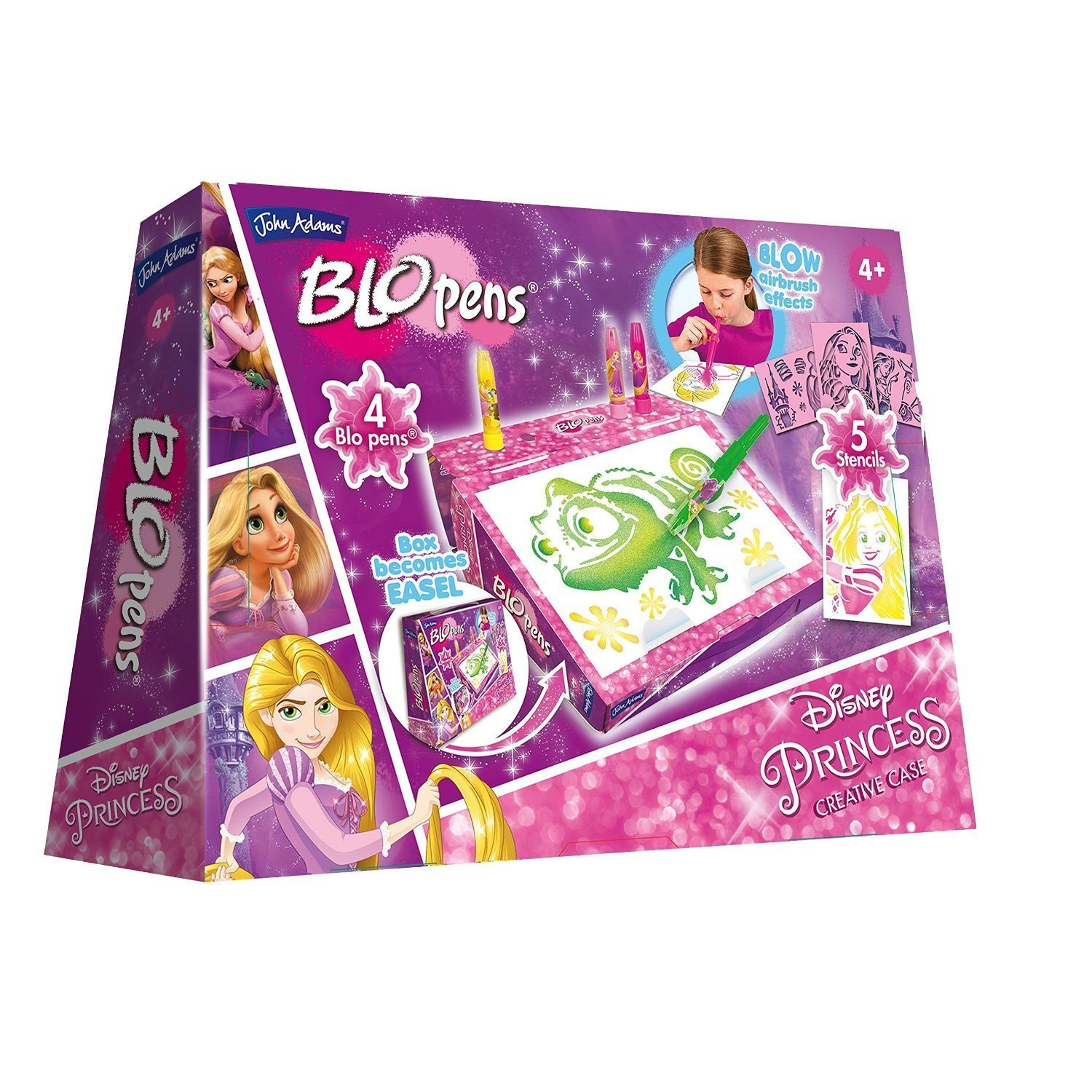 ID John Adams Disney Princess Rapunzel BLO Pens Creative Case (Multi-Colour) s for Ages 4+ by ID