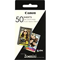 Canon Zink 2x3 Glossy Photo Paper - 50 Sheets