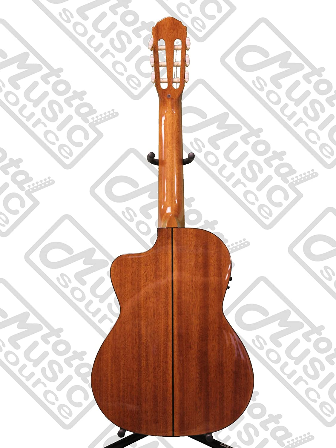 Oscar Schmidt Acoustic Electric Requinto Guitar W Gig Bag Stand Parts Diagram Oh30sce Musical Instruments