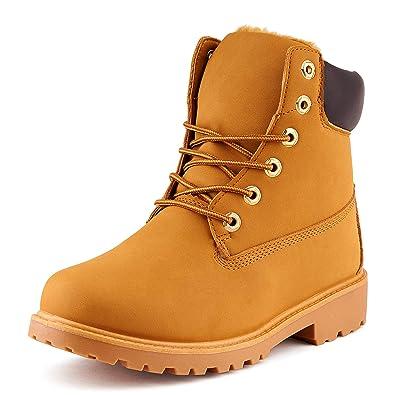 Fusskleidung Herren Outdoor Boots Warm Gefüttert Stiefel