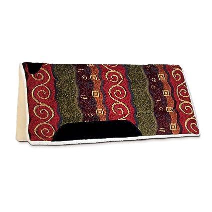 Diamond Wool Premium Wool Felt Liner Western Saddle Pad 2 sizes available NEW