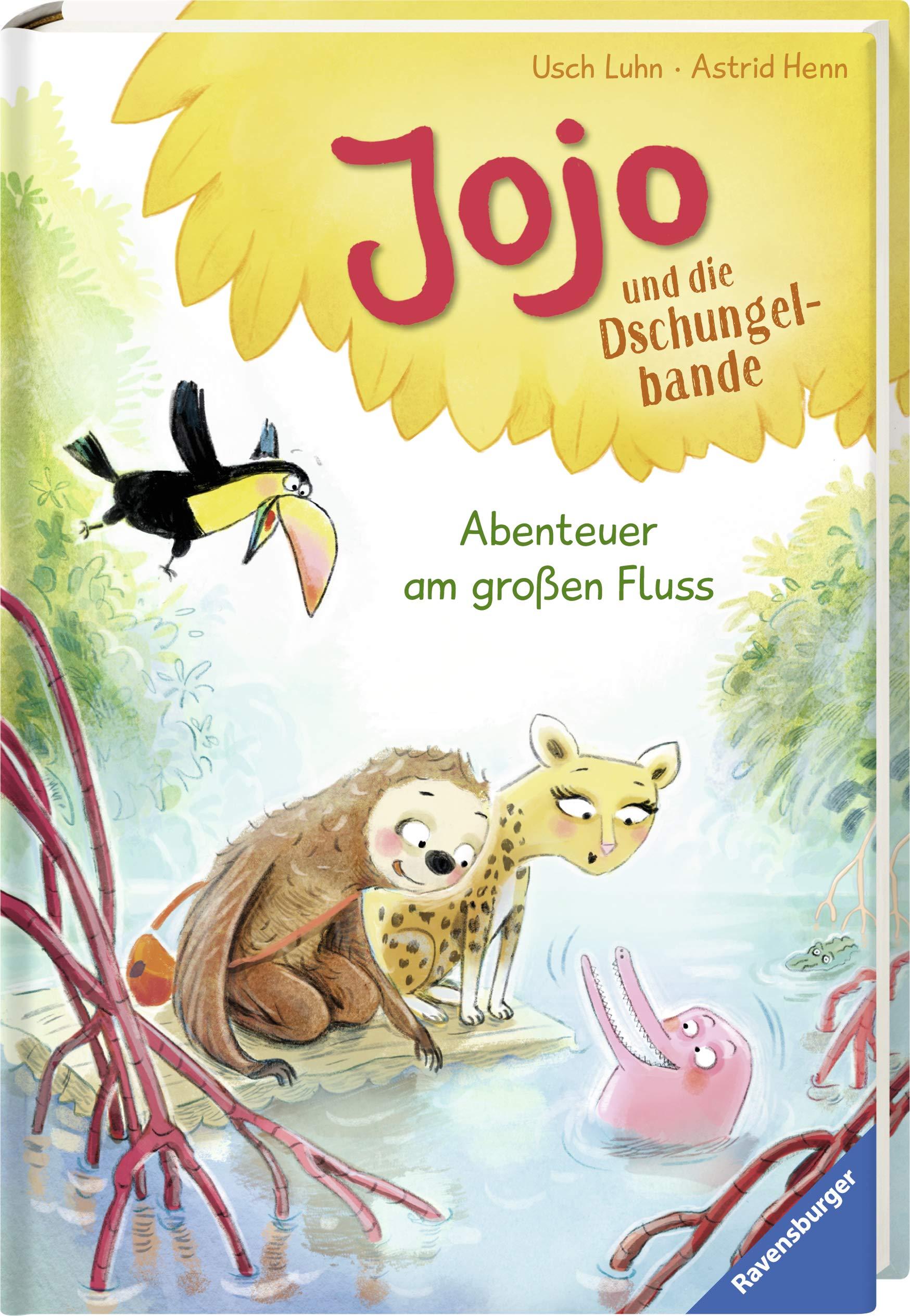 Jojo Und Die Dschungelbande Band 2 Abenteuer Am Grossen Fluss Erstleser Amazon De Luhn Usch Henn Astrid Bucher
