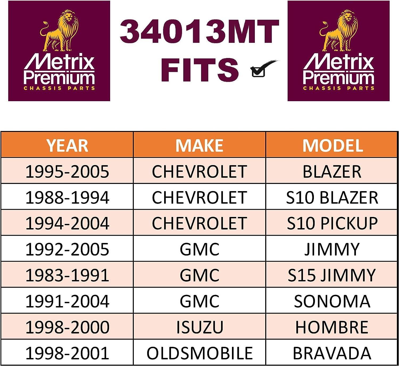 34013MT Outer Tie Rod End 1983-1991 GMC S15 98-01 Bravada 1991-2004 Sonoma ES3462 1995-2005 Chevrolet Blazer Made in TURKEY 1998-00 Isuzu Hombre For 1988-1994 S10 1992-2005 Jimmy