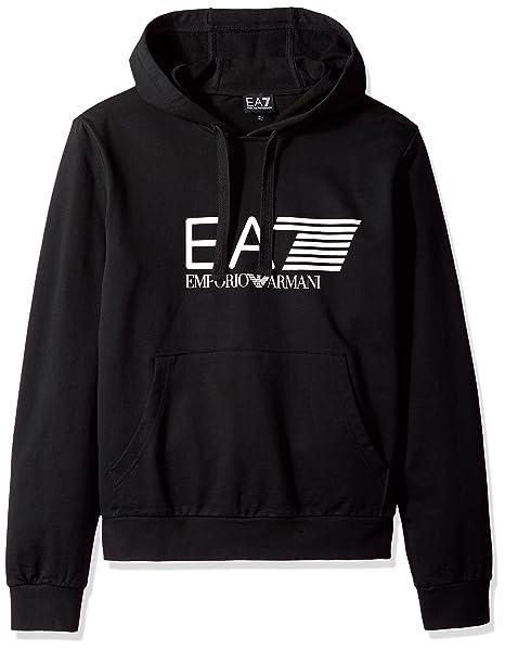 online store e382f 4393f Emporio Armani Felpa Con Cappuccio Uomo 3ZPM62-PJ05Z: Amazon ...