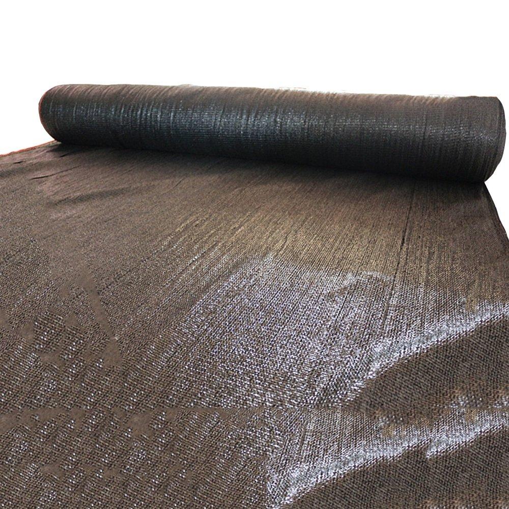HUO Rete di Protezione delle Piante Rete di Protezione delle Percentuali Rete Paravento Frangivento (colore   nero, Dimensioni   3  10m)