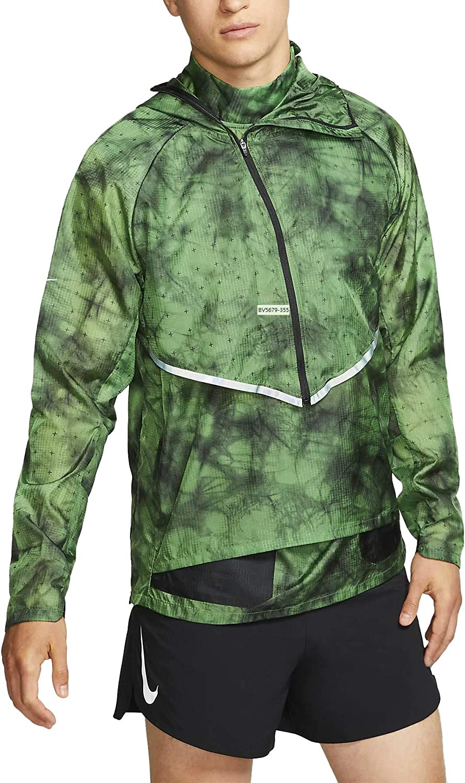 Nike Tech Pack Transform Bv5679-355 - Chaqueta para correr con capucha para hombre - Negro - Medium: Amazon.es: Ropa y accesorios