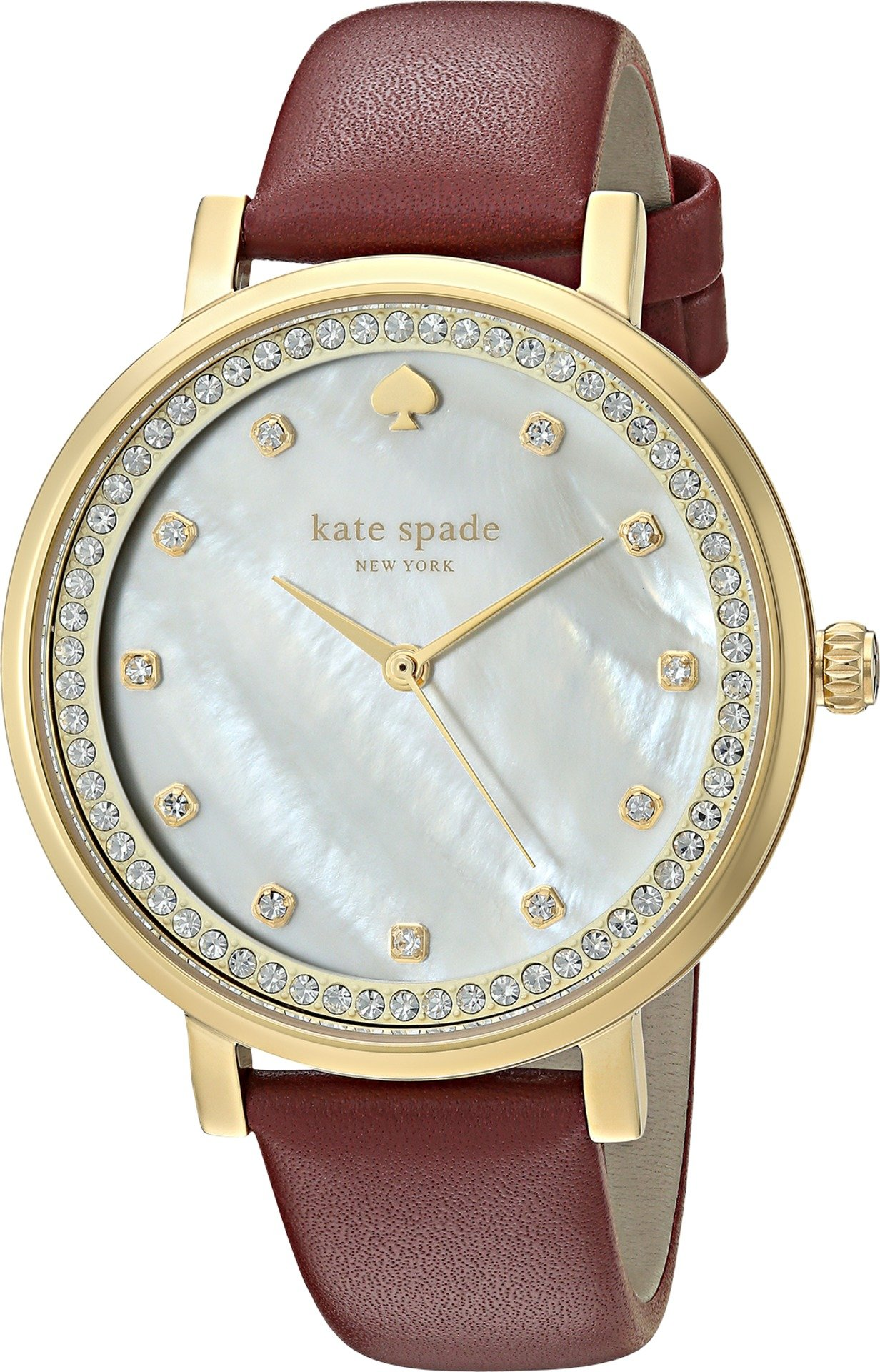 kate spade new york Women's KSW1170 Monterey Analog Display Quartz Red Watch