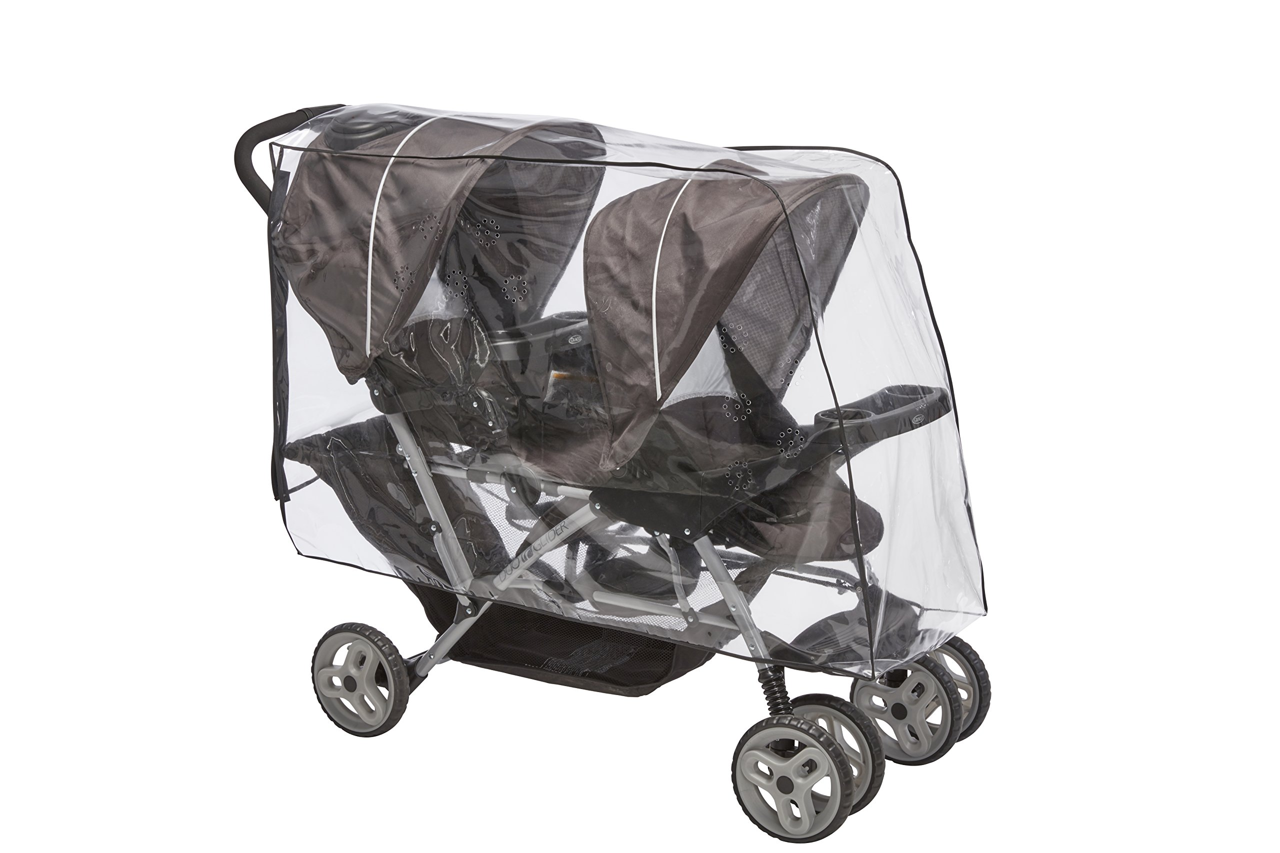 Sashas Premium Series Rain and Wind Cover for Graco DuoGlider Click Connect Stroller by Sasha Kiddie Products (Image #1)