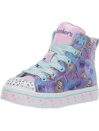 Skechers Girls TWI-Lites-Mermaid Party Sneakers