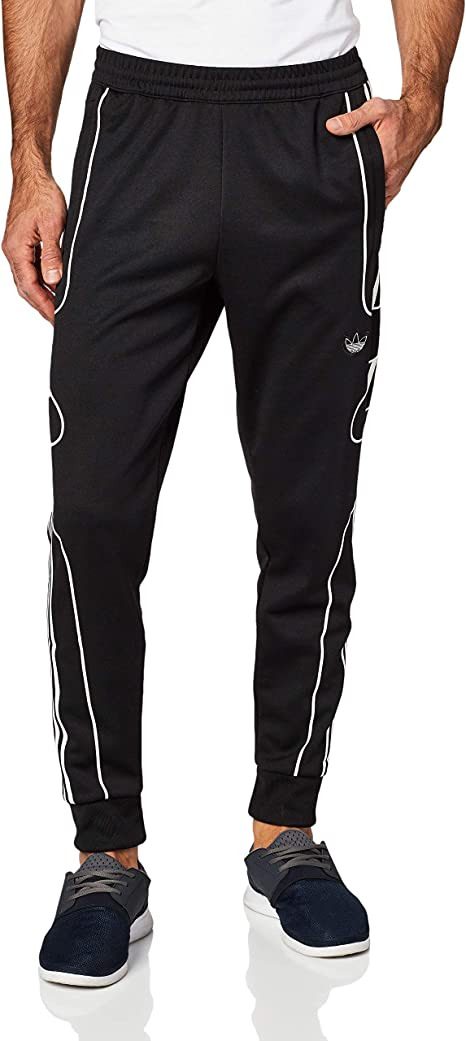 pantaloni tuta adidas da uomo nero