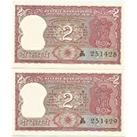 KEYAAN IMPEX Klickindia 2 Rupee (Standing Tiger) Rare Indian Note