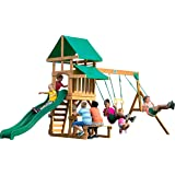 Backyard Discovery Belmont All Cedar Wood Playset Swing Set