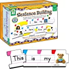 Carson Dellosa – Sentence Building Literacy Resource with 86 Cards for Language Arts For K, 1st, & 2ND Grade & Ell