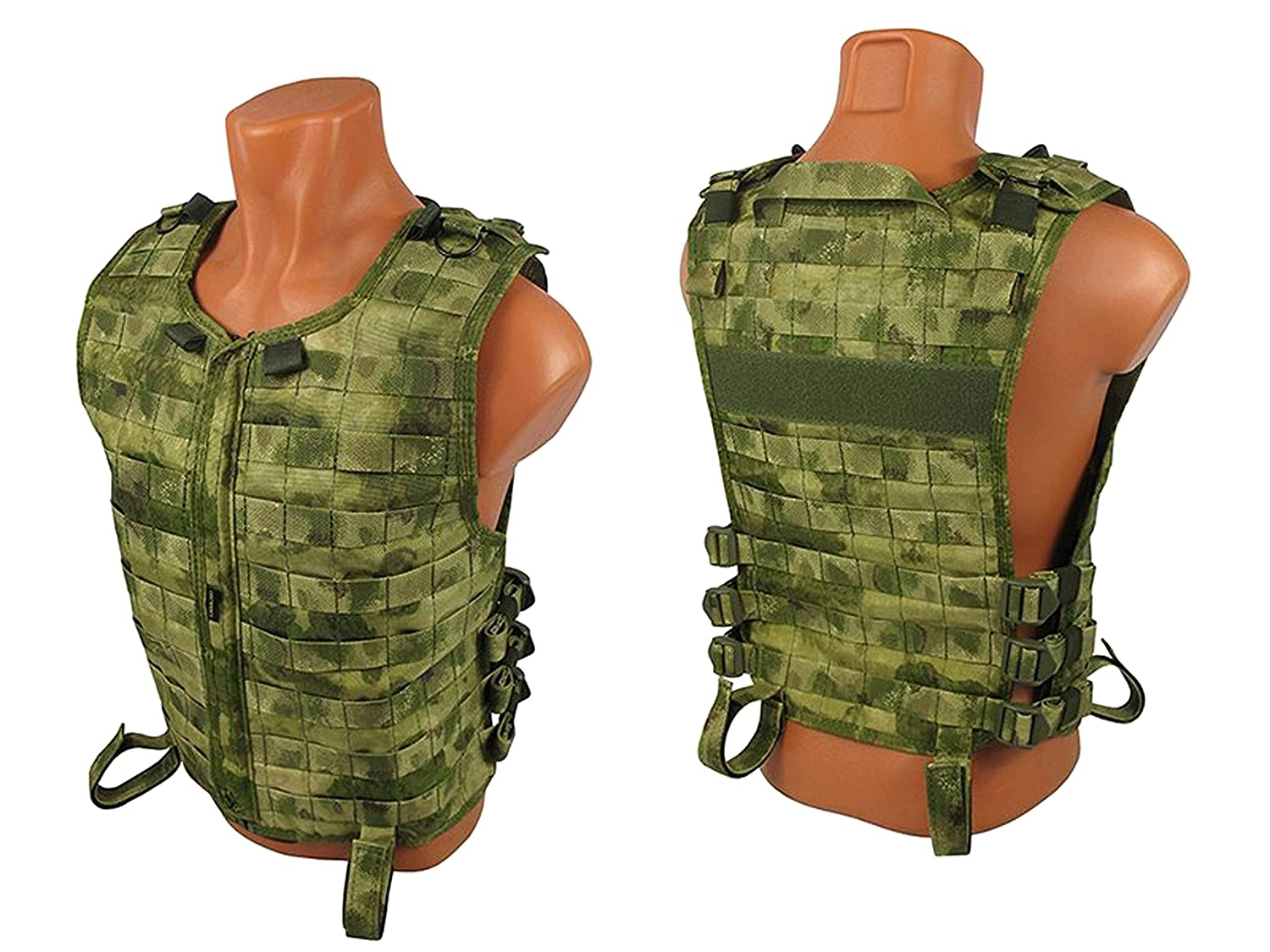 Tactic World Molle Weste Brust Rig Airsoft Paintball Jagd Vest Chest Rig