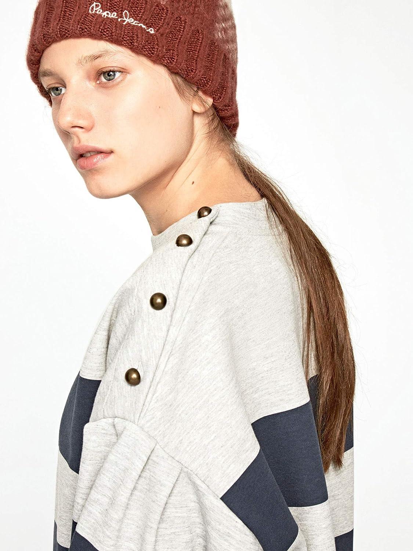 Pepe Jeans PL580879 Sweatshirt Frauen Grau